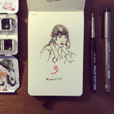 作品3_似顔絵