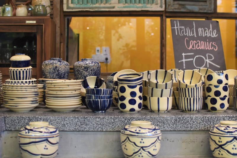 Quán Bụi Garden Handmade Ceramics Ho Chi Minh District 2 Vietnam