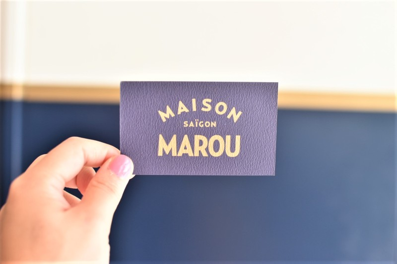 Maison Marou Saigon Namecard