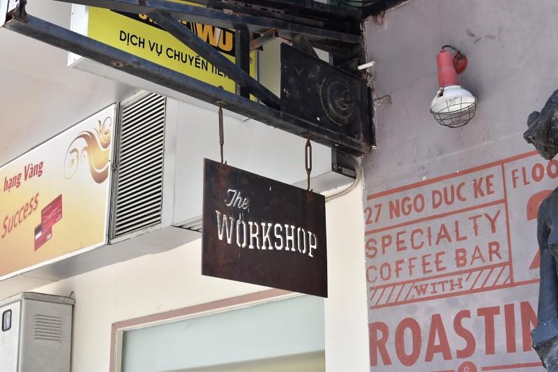 The Workshop Ho Chi Minh Saigon cafe Vietnam